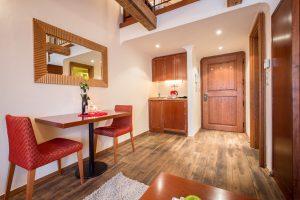 Nicholas Hotel Residence apartment living room