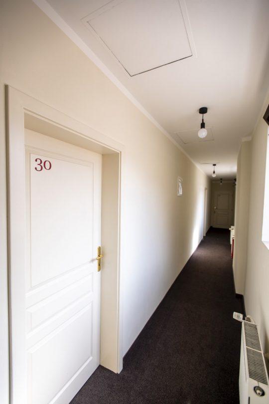 Amadeus Hotel corridor