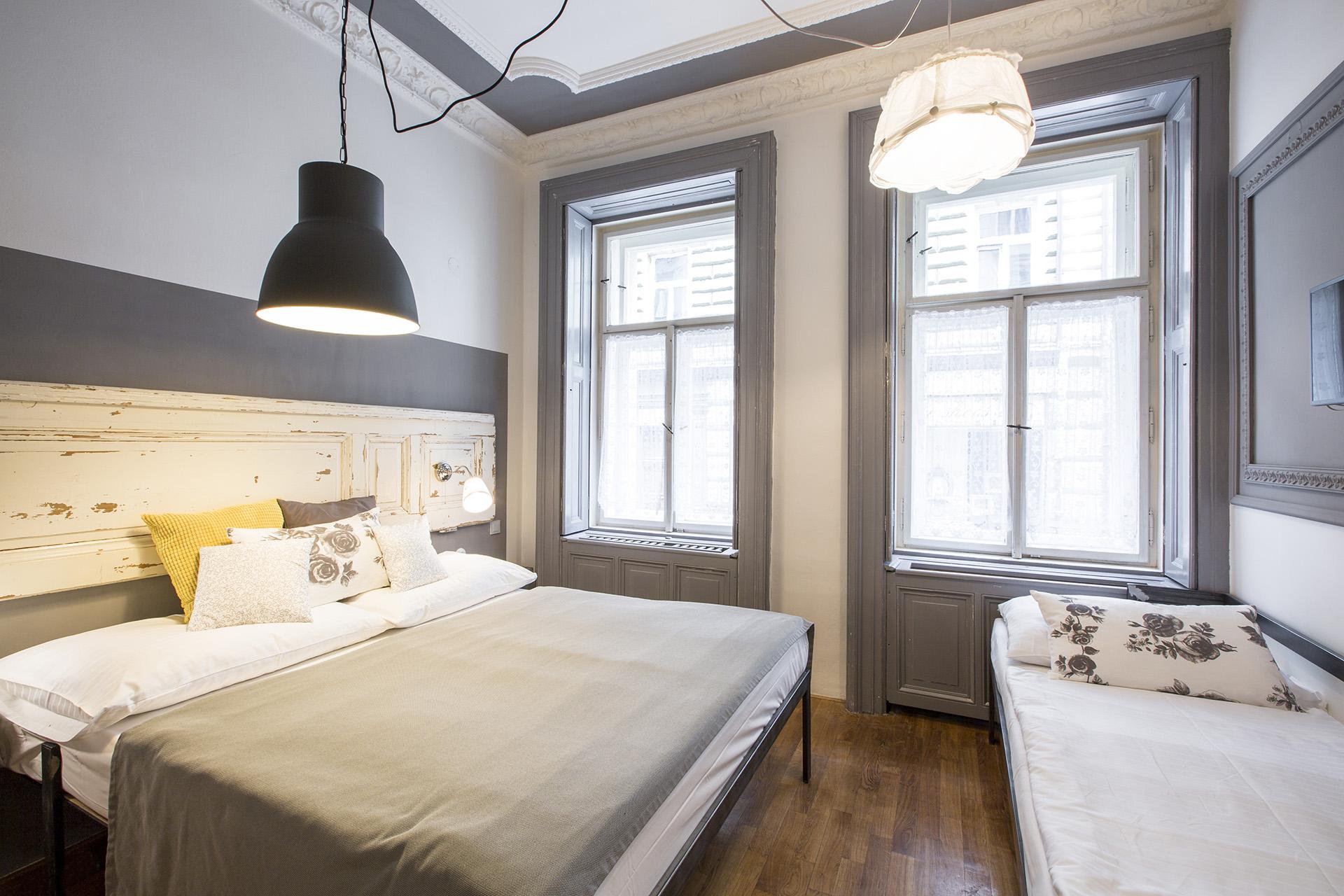Miss Sophies New Town triple bedroom