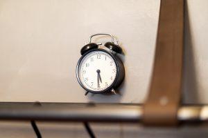 Miss Sophie's Downtown clock detail