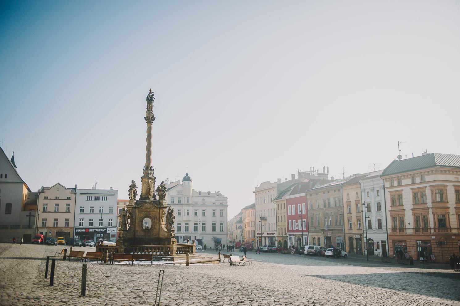 holy trinity column Olomouc