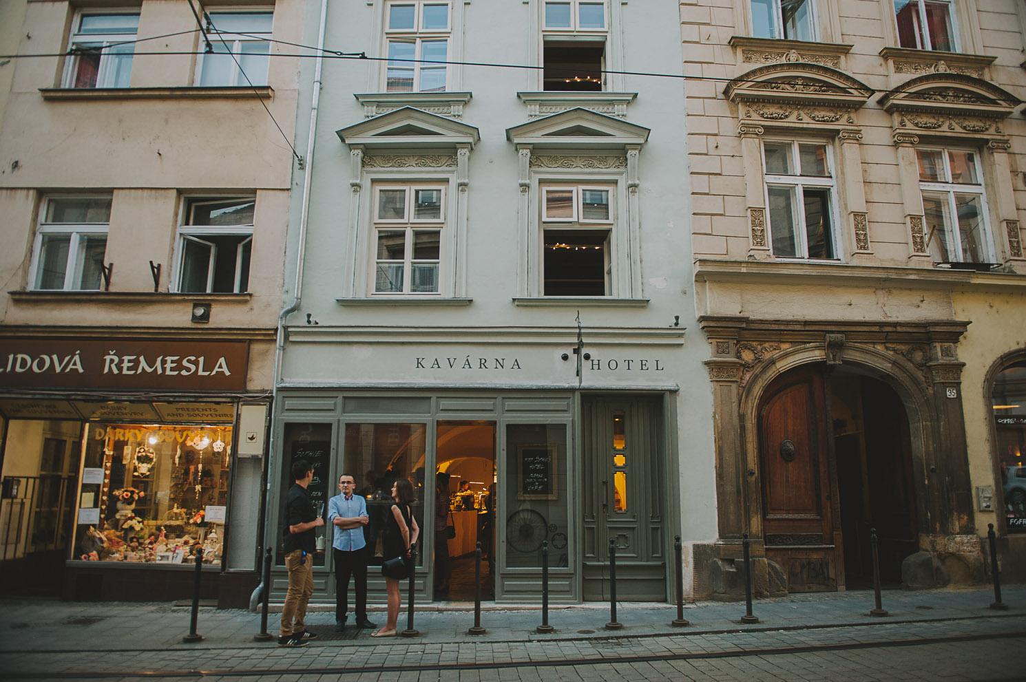 Miss Sophies Olomouc building