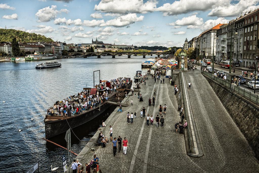 Náplavka Prague